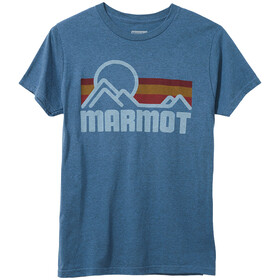 Marmot Marmot Coastal Tee SS Men, stargazer heather
